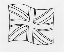 Revolutionary England Flag To Colour Colouring For Kids Things Do
