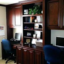 home office built in. Custom Built Desk Home Office Dual In Desks Pc Into