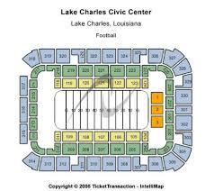 Lake Charles Civic Center Seating Chart Lake Charles Civic Center Arena Tickets And Lake Charles