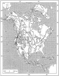 ВНУТРЕННИЕ ВОДЫ СЕВЕРНОЙ АМЕРИКИ Среднегодовой слой стока в Северной Америке мм
