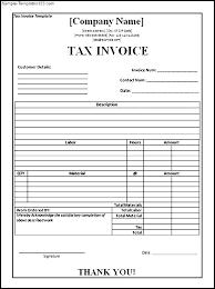 Invoice Sheet Example Stingerworld Co