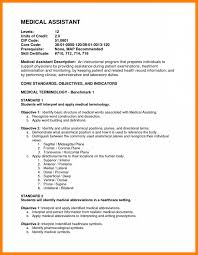Example Resume Medical Assistant Position Ixiplay Free Objective For