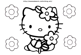140 Dessins De Coloriage Hello Kitty Imprimer