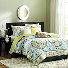 green and brown coverlet madison park samara bali 6 piece quilted coverlet set from hayneedlecom blue