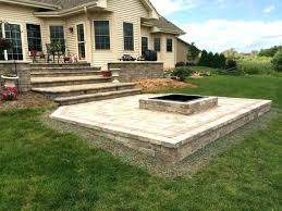 concrete patio with square fire pit. Delighful Fire Square Fire Pit Liner Floor Concrete Patio With Fresh  Throughout For On Concrete Patio With Square Fire Pit S