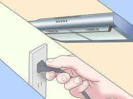 how to install a range hood 14 steps pictures wikihow