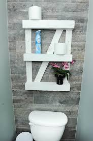 Pallet Wall Bathroom Accent Tile Wall Rustic Pallet Shelf Toliys Tile Installation