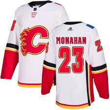 Flames Sean Monahan Calgary Jersey