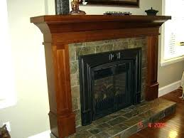 craftsman style fireplace surround amazing mission mantel thumbnail seven new pertaining to mantels plans cra
