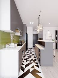 Designs by Style: Black And White Tile - Scandinavian