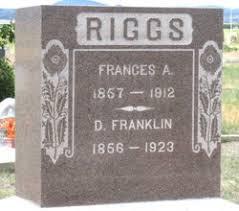 Frances Ava Hopkins Riggs (1857-1912) - Find A Grave Memorial