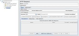 Apache JMeter - User's Manual: Building a Web Test Plan