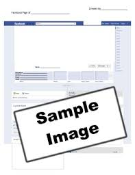 Facebook Page Template For Students Sinma