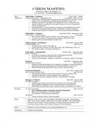 Resume Format Video Editor Resume Format Pinterest Sample