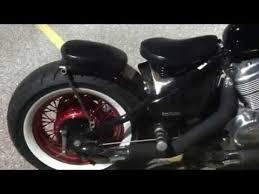 bobber honda shadow vlx 600 springer seat review youtube