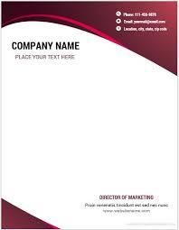 Letterhead Sample Word 10 Best Letterhead Templates Word 2007 Format Microsoft Word
