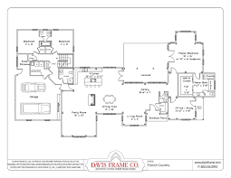 One Story House Plans With Open Concept  Plan 1275 Floor Plan Open Floor Plans For One Story Homes