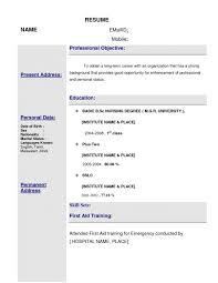 First Job Resume Format Best of Resume Format For Nursing Job Examples 24 Shalomhouseus