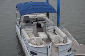 27 crest tritoon boat al info