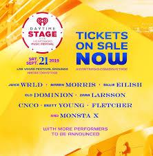 Rumor Mill Iheart Music Festival Returns Daytime Stage