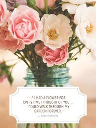 Love Flower Quotes