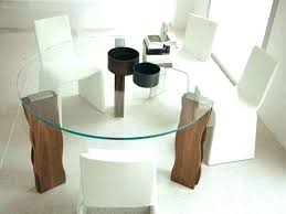 round glass top coffee table with wood base wood table bases for glass tops glass dining