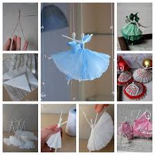 diy step by step room decor diy creative paper ballerinas with napkin and wire step by