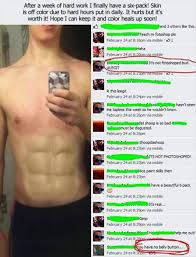 Man I Wish I Could Get Abs In A Week Like Him