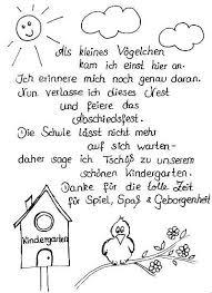 Abschiedsspruch Zum Kindergarten Abschied Was Im Ideen Große