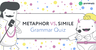 simile and metaphor what s the difference grammarly metaphor vs simile quiz header