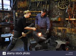 The Blacksmith And Metal Worker Wolf Dieter Wittig Runs The Oldest