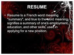 Resume Curriculum Vitae Bio Data Nikhil Joshi Ppt
