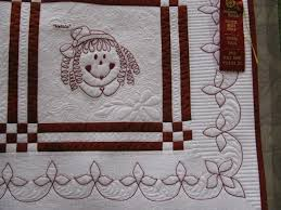 187 best Quilt borders images on Pinterest | Quilt patterns ... & Close-up of the Ragamuffin Kids quilt by Shirley Crawford Adamdwight.com