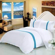 white 100 cotton hotel bedding sets twin queen king size hotel bed set duvet cover bed sheet linen set pillowcase gifts comforter set queen french bedding