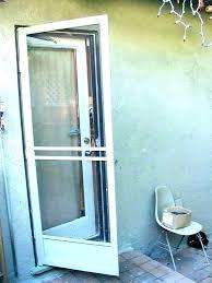 screen door closing mechanism self sliding automatic flush auto closer