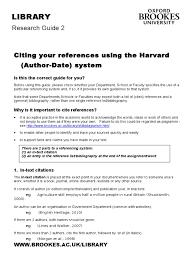 Harvard 1doc Citation Reference