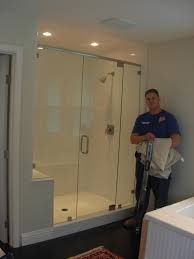 custom frameless shower enclosures with frameless glass shower doors a part of under bathroom