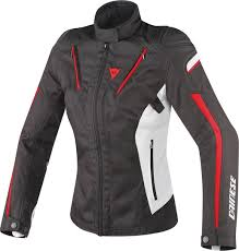 dainese stream line lady d dry women s clothing textile jackets motorcycle black white