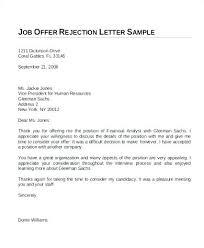 Thanks For Offer Letter Accepting Job Offer Letter