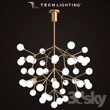 mara grande led chandelier by tech lighting chandeliers