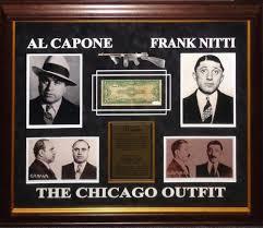 Al Capone and Frank Nitti Signed Dollar Bill