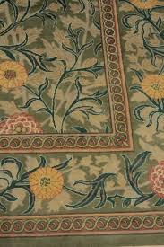 william morris jasmine light green pink area rug 9 1 x12 3 craftsman area rugs by bareens designer rugs