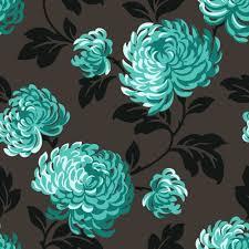 Teal Bedroom Wallpaper Teal And Pink Flower Backgrounds Wallpaper Fine Decor Fine