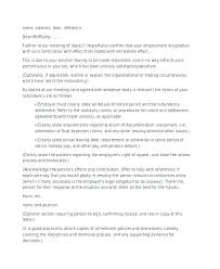 Termination Letter For Absconding Employee Of Employment To Due