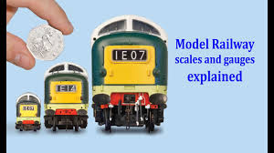 Model Train Scales Chart The Guide To Model Railway Scales Gauges