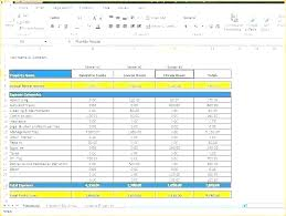 Free Finance Spreadsheet Income And Expenses Spreadsheet Template Business Expense