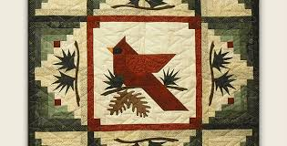 Enjoy This Beautiful Cardinal Quilt All Winter - Quilting Digest & Enjoy This Beautiful Cardinal Quilt All Winter Adamdwight.com