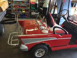 57 Chevy Gallery — Cruise Car: Custom Golf Cart and Utility ...