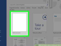Microsoft Word Templates Labels How To Create Labels In Microsoft Word With Pictures Wikihow