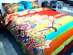 colorful queen bedding cream colored comforter set fanciful sets bright interior design uk